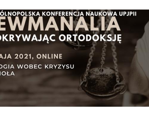 Newmanalia 2021: Teologia wobec kryzysu Kościoła