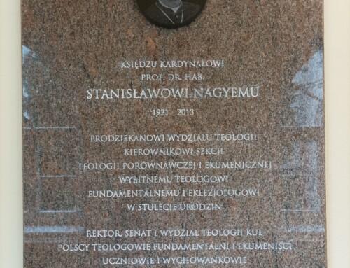 Konferencja naukowa w stulecie urodzin księdza Stanisława kard. Nagyego SCJ
